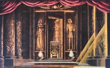 """Bozzetti per """"Aida"""""""