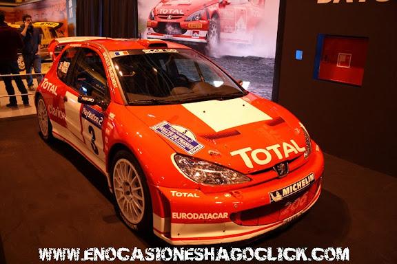 Peugeot 206 WRC Madrid Motor Days