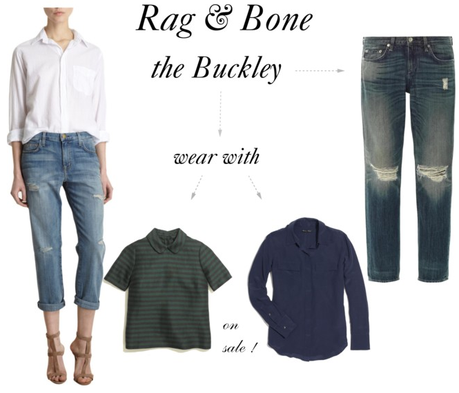 Rag and Bone Buckley Boyfriend Jean