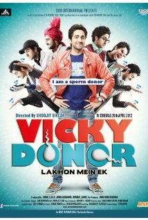 Cover poster of 2012 Hindi movie, Vicky Donor