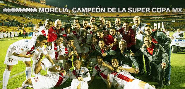 El Club Morelia de México se queda con la mítica Súper Copa MX, al derrotar a Tigres en la Final de vuelta | Ximinia