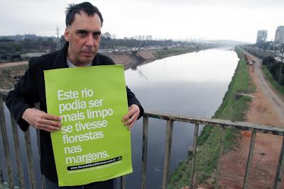 o músico e poeta Arnaldo Antunes apóia a campanha #florestafazadiferenca em defesa do Código Florestal