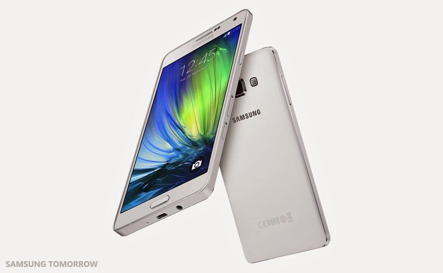 Smartphone Samsung Tertipis, Samsung Galaxy A7
