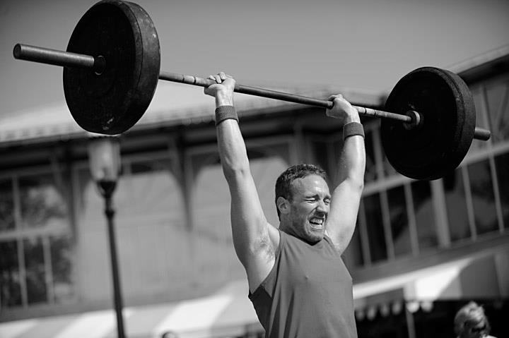 Push Press is a staple exercise in CrossFit