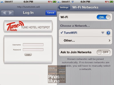 Tune Hotel Angeles City Wifi Internet