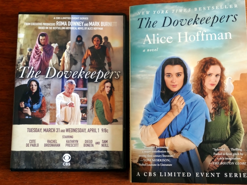 book, dvd, dovekeepers, CBS, series,