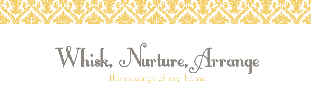 Whisk, Nurture, Arrange
