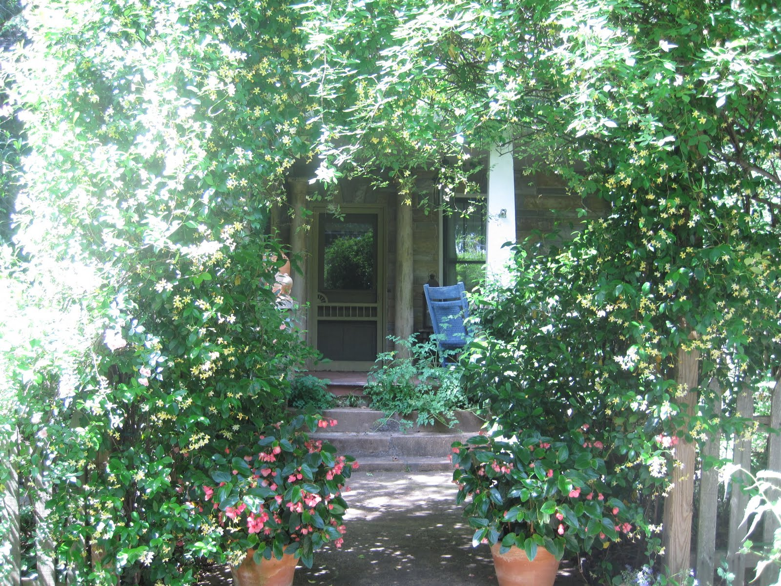 Pretty Old Houses: Ryan Gainey's Garden--Connoisseurs Garden Tour 2011