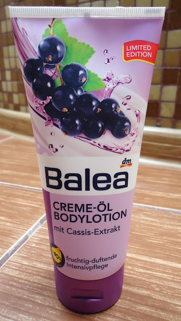 Balea- balsam do ciała z ekstraktem z czarnej porzeczki