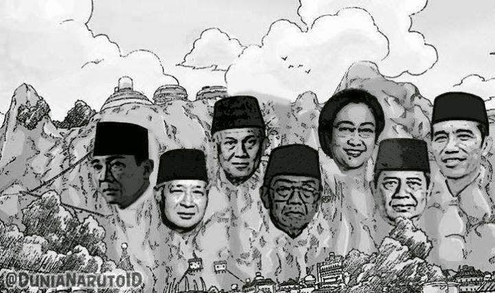 President indonesia ala naruto