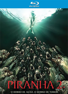 Filme Poster Piranha 2 BDRip XviD Dual Audio & RMVB Dublado