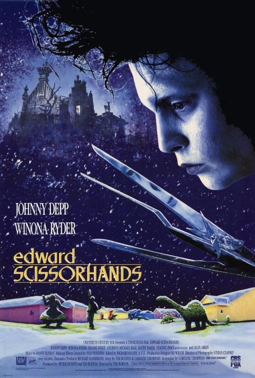 El joven manos de tijera (Edward Scissorhands 1990) Online