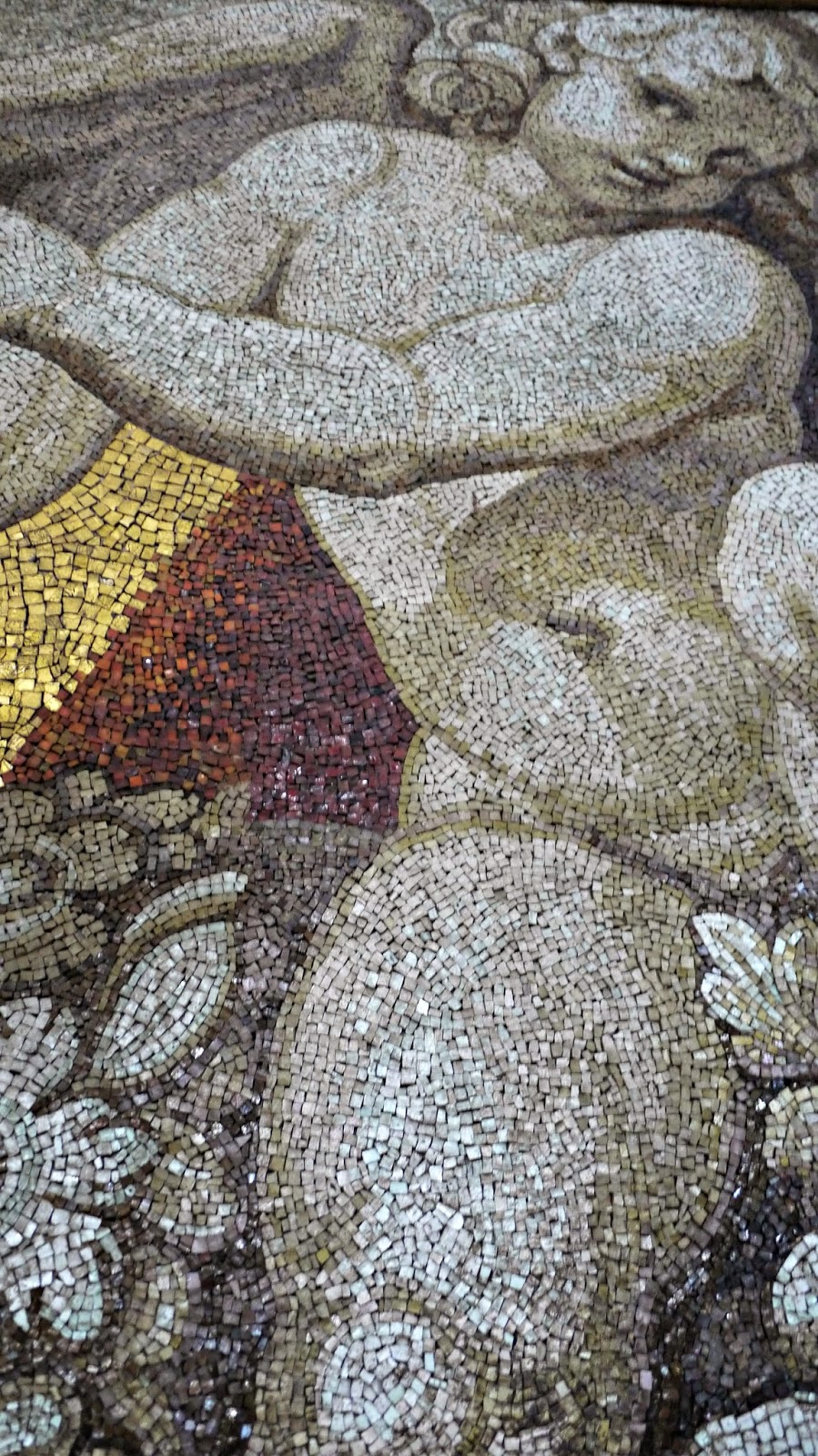 Mosaic in the dome of St Peter's Basilica Vatican