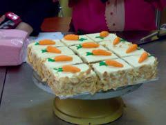 carrot walnut cake.  rm80