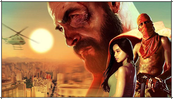 Max Payne 3 trailer lanamento game