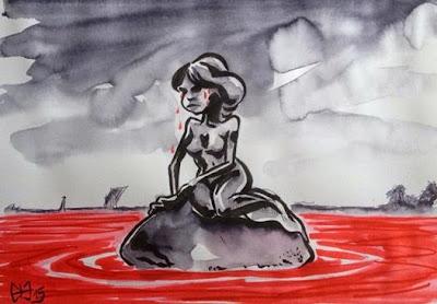 Le Danemark pleure la bêtise humaine... ©Guillaume Néel