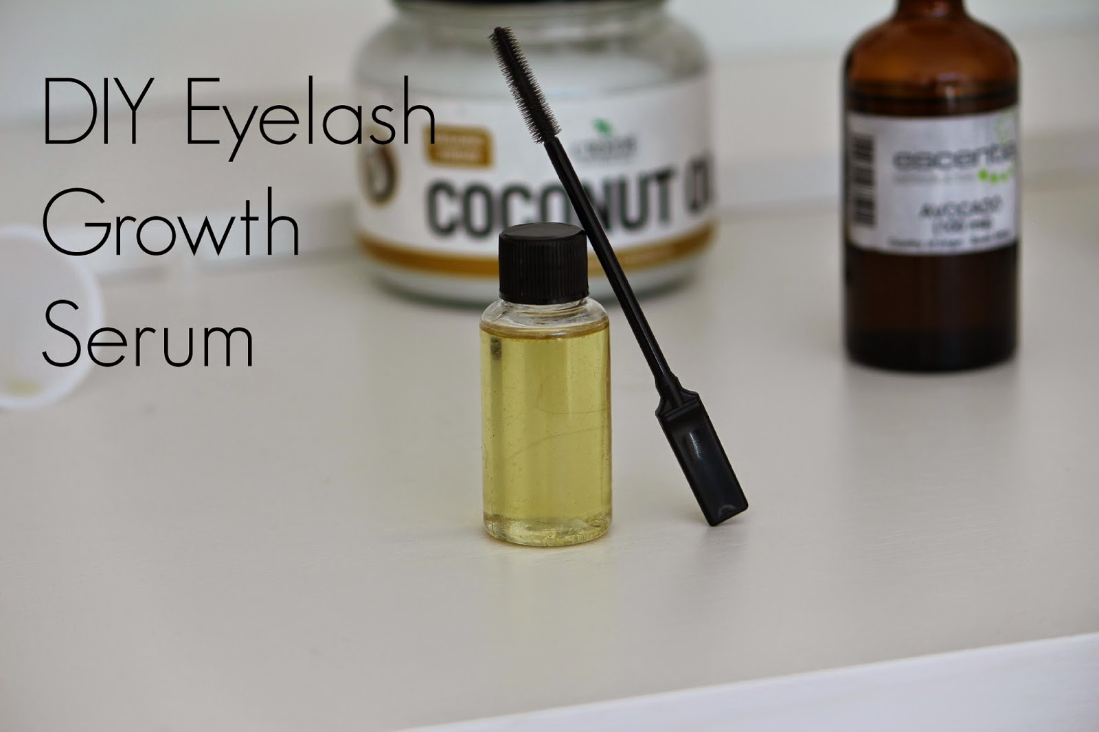 DIY eyelash growth serum growing long and thick eyelashes naturally