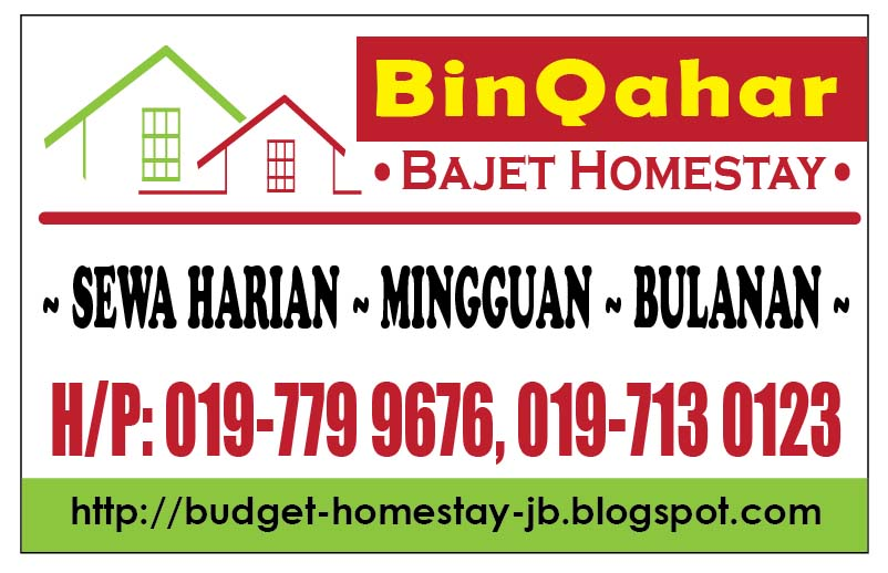BinQahar Homestay Pasir Gudang