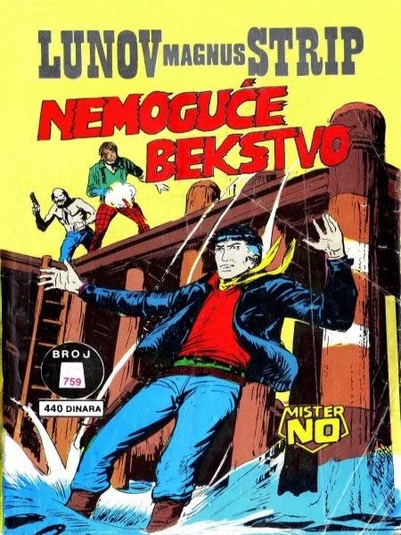 Mister No Nemoguce+bekstvo