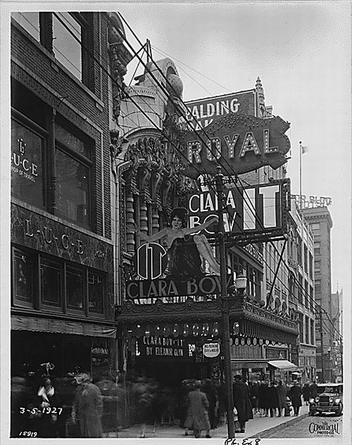 It 1927 at the Royal Theater in Kansas City