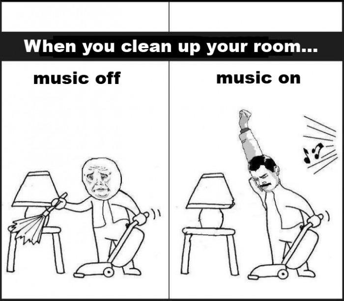 Boring Activities Plus Music Win