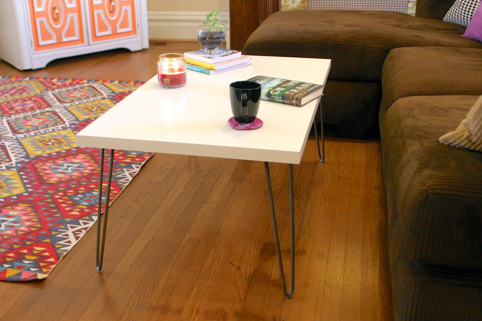 hairpin leg coffee table - the surznick common room