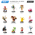 Nintendo will release its first set of NFC-enabled Amiibo figurines next month