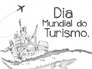 Dia mundial del turismo para colorear