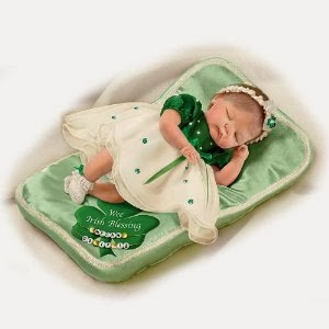 Baby Doll Wee Irish Blessings Personalized Baby Doll by Ashton Drake