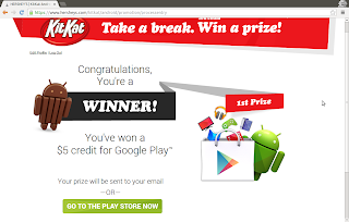 Android KitKat contest winner