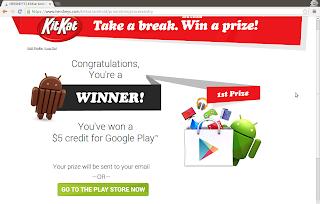 Android KitKat contest winner