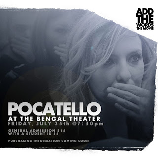 Add The Words | Bengal Theater | Pocatello, Idaho