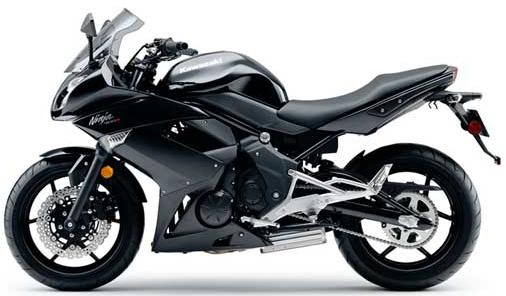 Kawasaki Ninja Rr Black. 2011 Kawasaki Ninja 400R Black