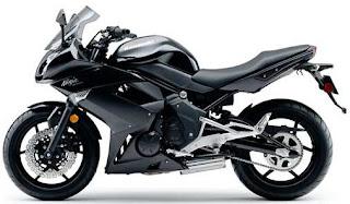 2011 Kawasaki Ninja 400R black side Pics