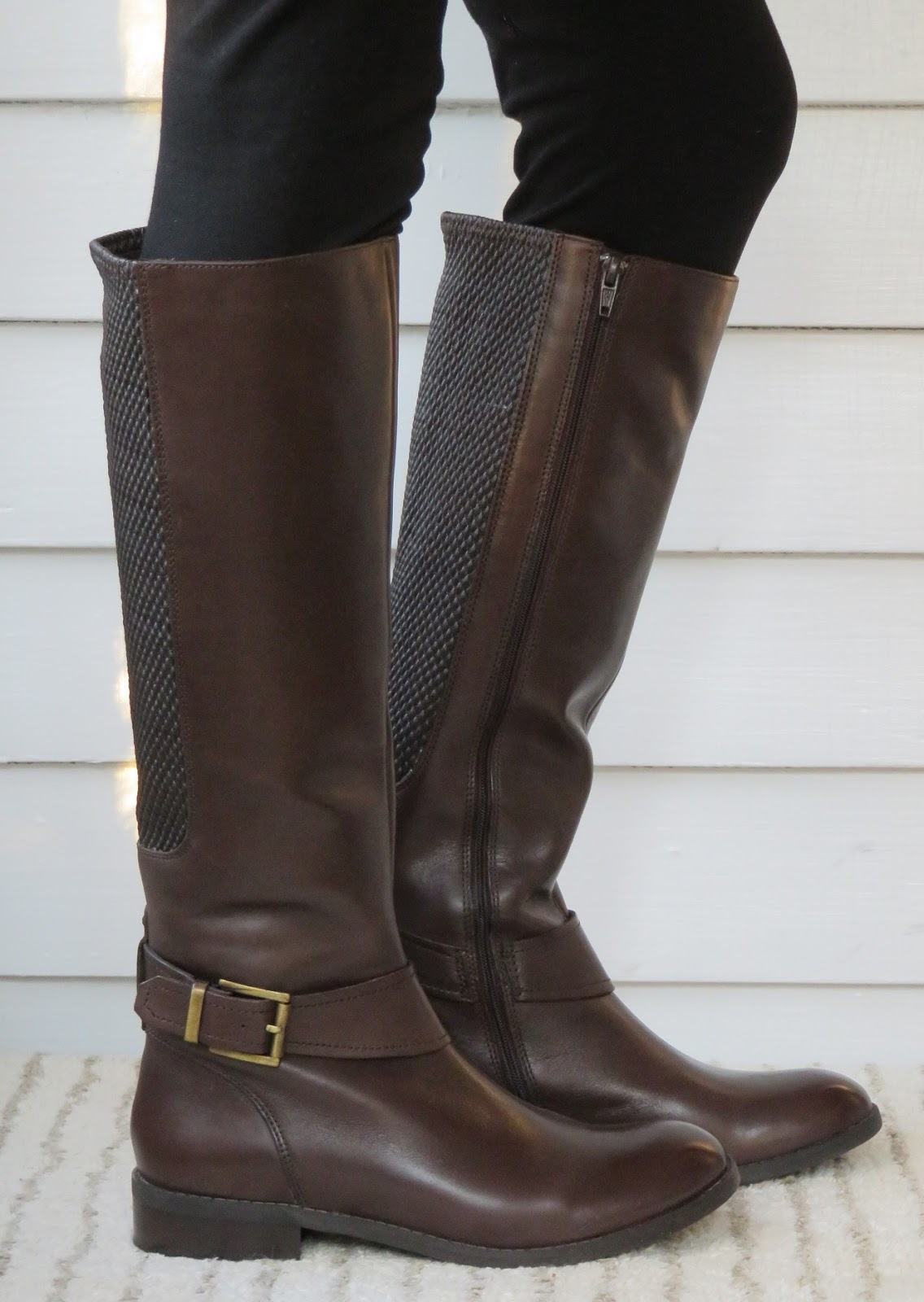 clarks wide calf boots canada