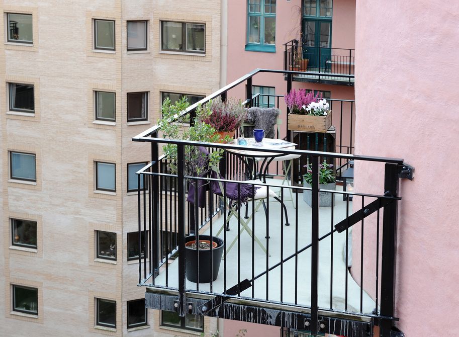 Fashion show: жизнь на балконе.