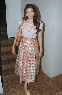 Kajal Agarwal Latest Pictures at Fund Raising Event For NGO Alert India