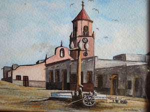 mi desaparecida iglesia, mis acrilicos
