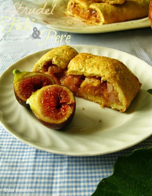 strudel fichi e pere • strudel with figs and pears