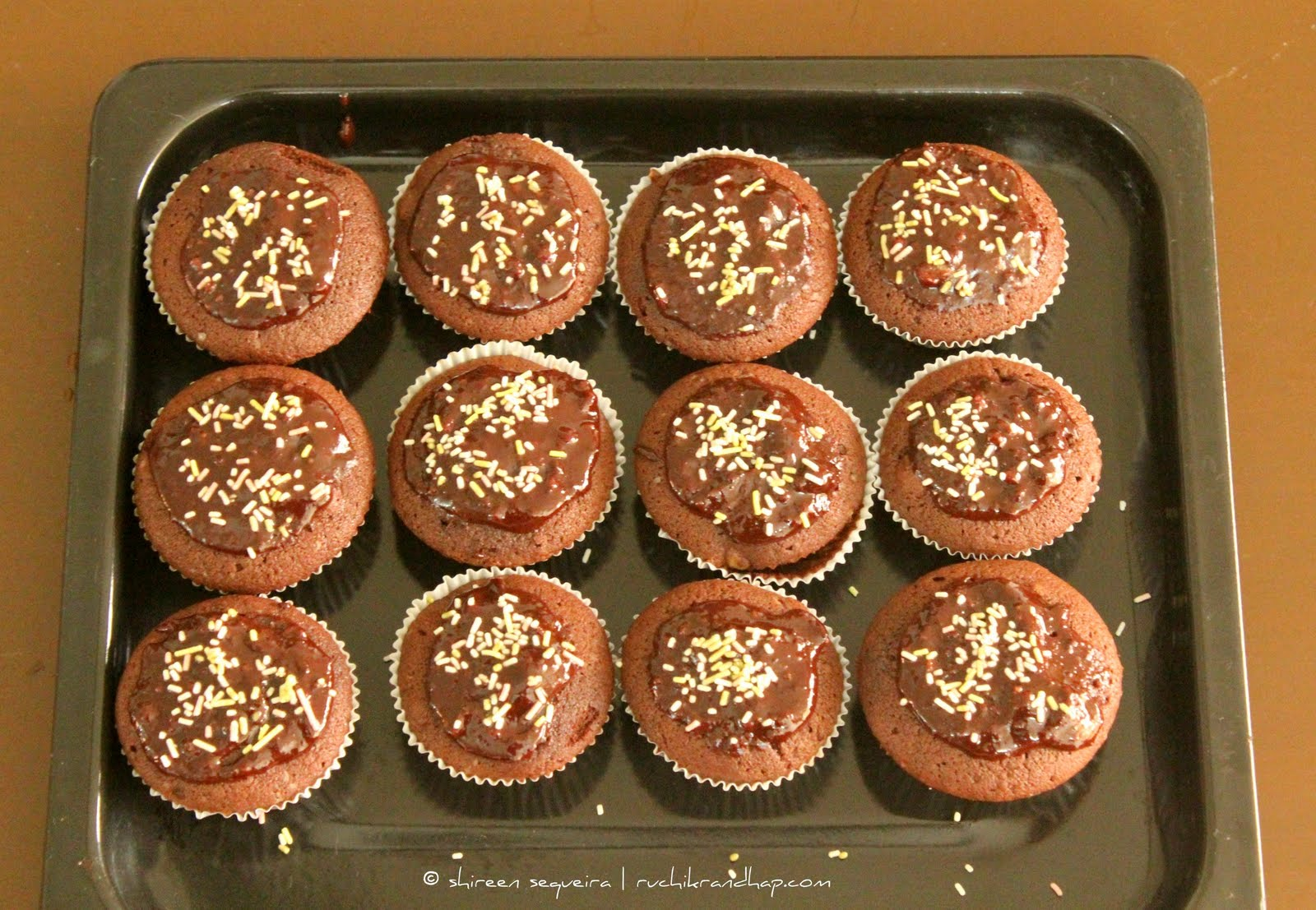 ... ): Chocolate Buttermilk Cupcakes - Bookmarked Recipes Every Tuesday