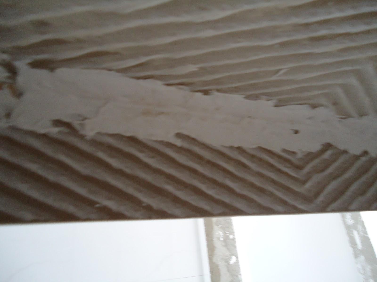 Como se começa uma FAMÍLIA: Montagem da bancada de porcelanato #4F687C 1600x1200