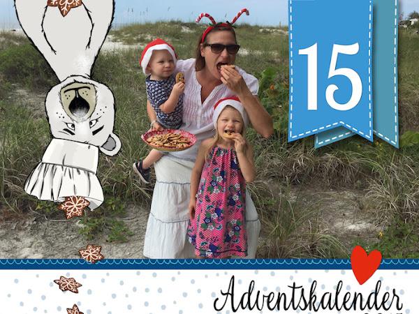 Adventskalender - Türchen Nr. 15 - Ein weihnachtliches Rezept direkt aus Florida von Anja von kid5