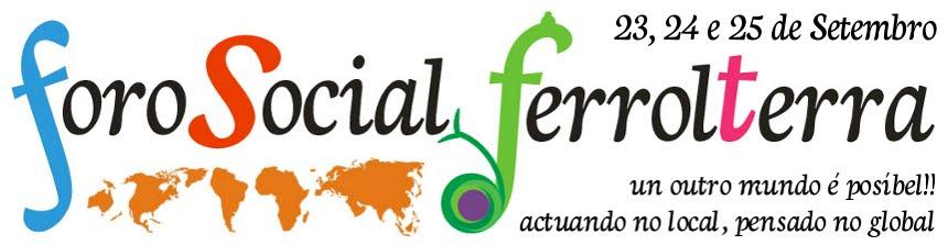 Foro social en Ferrol
