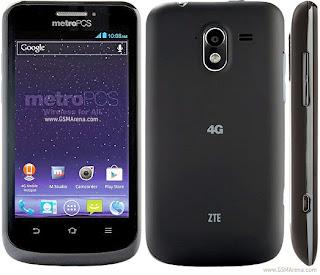 Harga dan Spesifikasi ZTE Avid 4G Terbaru Januari 2013
