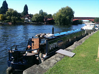 Moored at Maidenhead