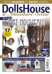 Dolls House and Miniature Scene: lehdessä DIY-ohjeitani