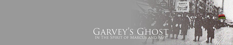 Garvey's Ghost: Black Talk
