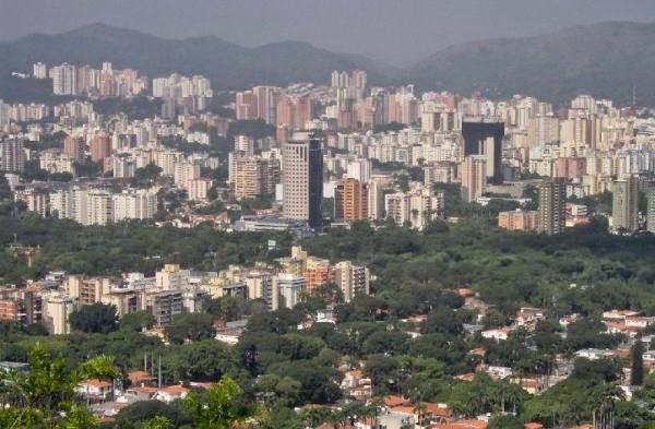 Vista Panorámica de la Ciudad de Valencia- Venezuela