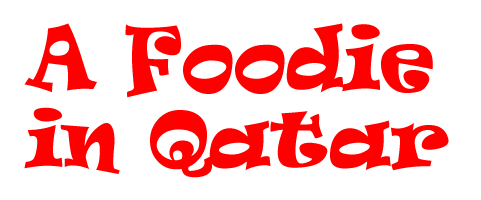 A foodie in Qatar