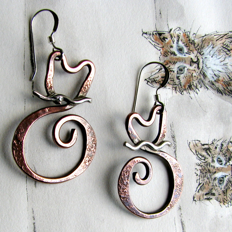 Nice Handmade Copper Wire Jewelry Designs Festooning - Electrical ...
